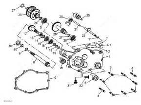 Bombardier 2010 Ds 90 X Gear Box Parts Catalog