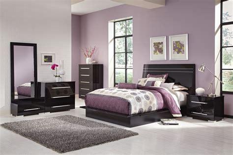 bedroom furniture dimora black ii  pc king bedroom