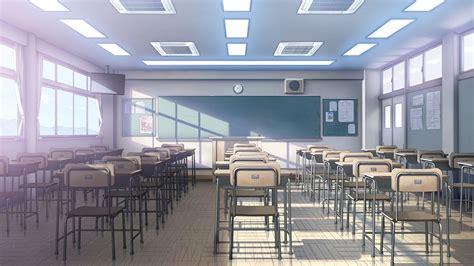 anime school background school anime scenery background wallpaper resources