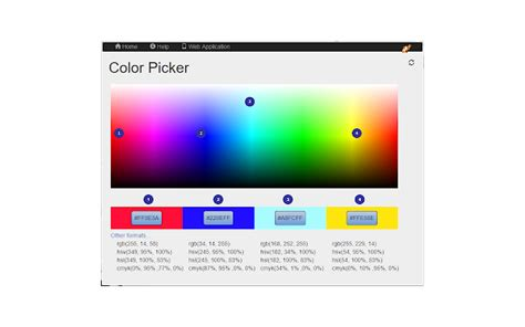 color picker chrome color picker chrome web store