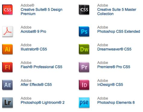 logo design by photoshop cs5 new official adobe cs5 logos packaging