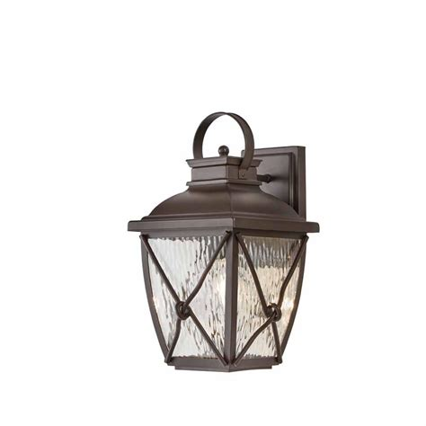 home decorators outdoor lighting home decorators collection springbrook 1 light rustic