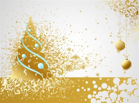 layout for christmas card golden christmas card layout vector free download