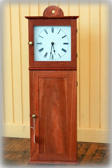 shaker wall clock woodworking projects plans