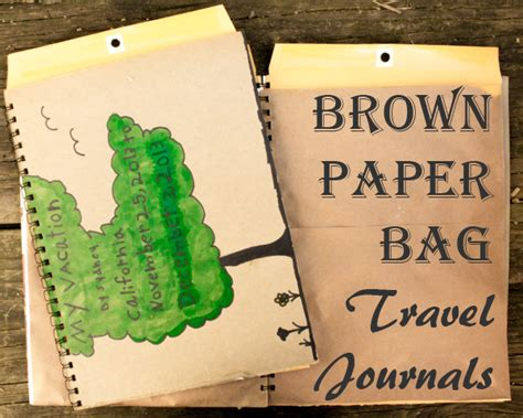 Lins Craft Pouch Kulit Perca Pull Up 1 tutorial how to brown paper bag travel journal