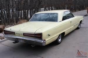 1966 Dodge Monaco 1966 Dodge Monaco Base 7 2l