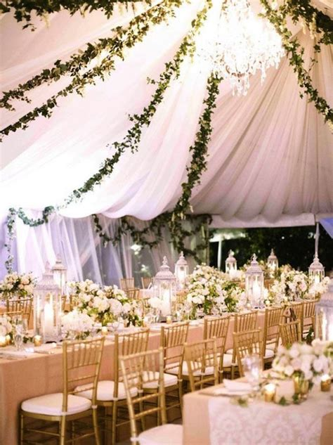 tent weddings and drapes with luxe style modwedding
