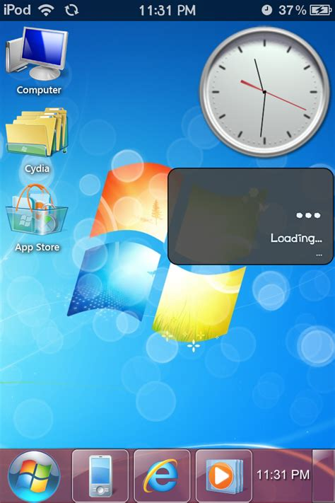 iphone themes windows 7 image gallery iphone windows 7