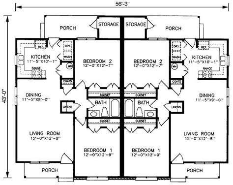 one level duplex house plans 17 best images about craftsmen homes on pinterest craftsman houses craftsman homes