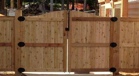 stunning wooden fence gate design with gate home