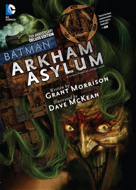 batman arkham asylum 25th 1401251250 batman arkham asylum 25th anniversary deluxe edition dc review under the radar music magazine