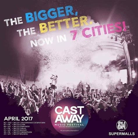 cast away song cast away music festival 2017 loopme philippines
