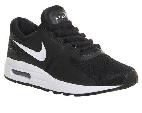Sepatu Nike Airmax Zero Black nike air max zero gs black white dk grey hers trainers