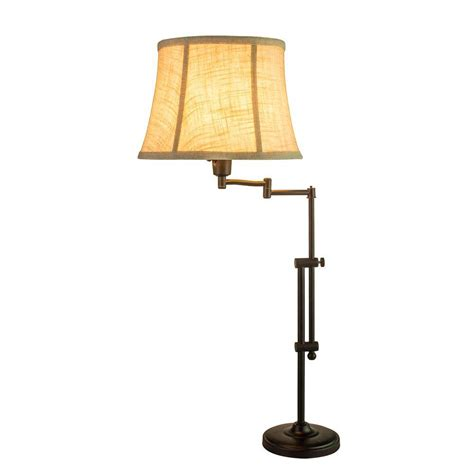 swing arm table l bronze fangio lighting 29 34 in madison bronze adjustable metal