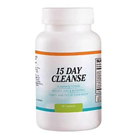 Cleanse 15 Day Detox Program Review by 15 Day Colon Cleanse Pureedgenutrition
