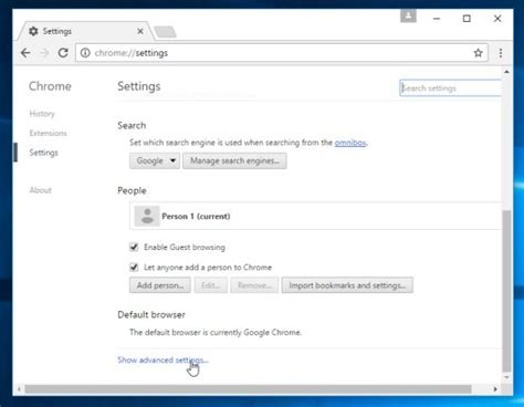 chrome settings how to easily reset google chrome to default settings