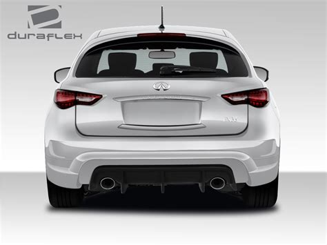infiniti fx35 fx37 fx50 qx70 rear bumper bar grilled guard 2011 infiniti fx rear bumper body kit 2009 2018 infiniti fx35 fx50 qx70 duraflex ct r rear