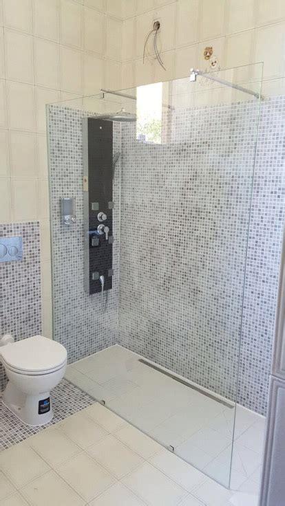 bagni con doccia a pavimento sostituzione vasca in doccia a filo pavimento a vinovo