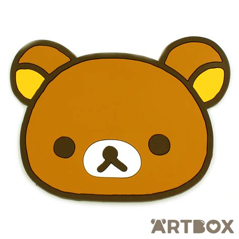 Where Can I Buy Home Decor by Buy San X Rilakkuma Face Die Cut Rubber Coaster At Artbox