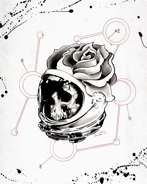 Skull Space space skull by j lew2021 on deviantart