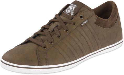 k swiss hof iv shoes brown white