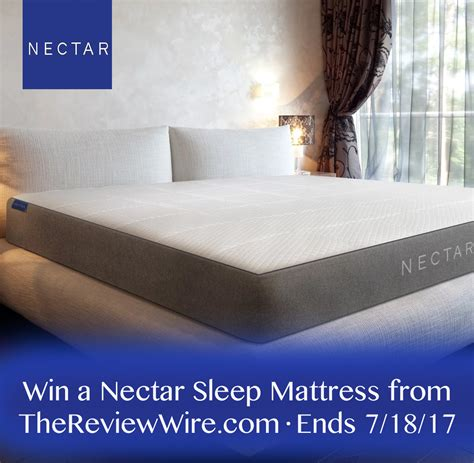 Free Mattress Giveaway - hello summer hop nectar mattress giveaway ends 7 18 17