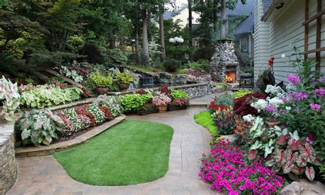 Backyard Garden Bed Ideas Low Bed Ideas Back Yard Affordable Landscaping Ideas Back Yard Landscaping With Raised Flower