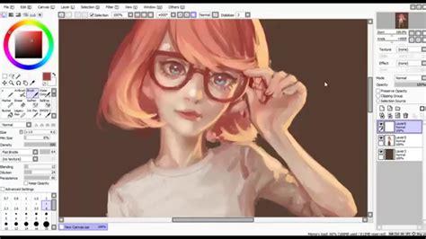 how to paint tool sai on painttool sai phần mềm vẽ chibi tốt nhất hiện