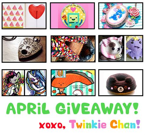 Sponsor Giveaway - april blog sponsor giveaway twinkie chan blog