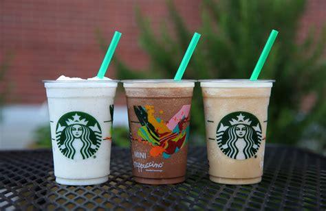 5 starbucks mini frappuccino 150 calories