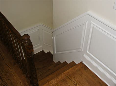 Decorating Small Bathrooms classic colonial raised panel wainscoting