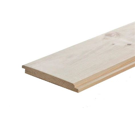 192 in wood spruce log cabin siding 42578 the home depot