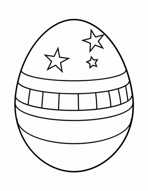 plain easter eggs coloring pages images amp pictures becuo