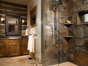 cabin bathroom designs walk in shower designs and things to consider when adding
