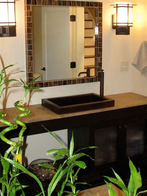 wonderful tips   bamboo themed bathroom decor   world