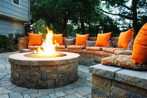 how to build an outdoor firepit for your home lifestyle