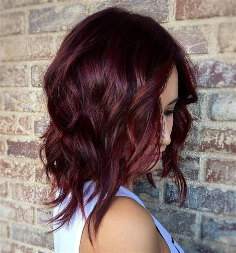 steps to doing burgundy hair with brown and caramel highlights 30 unexpected ways burgundy brown hair can make your life