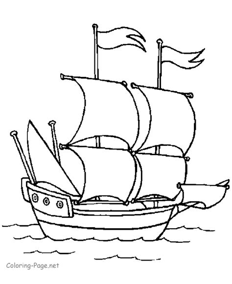 coloring book for relaxation sailing ships books boat coloring book pages columbus s ship
