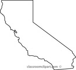 california state map clipart 92