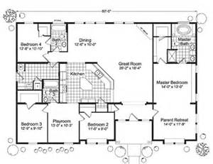 Modular Homes 4 Bedroom Floor Plans by 4 Bedroom Modular Home Floor Plans