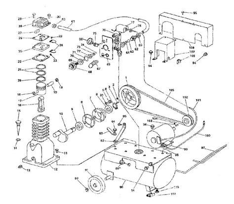 sanborn air compressor parts 44a75 44a100 44a100 22