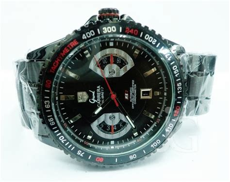 Jam Tangan Tag Heuer Gand tag heuer grand calibre 17 rs2 black rp 230 000