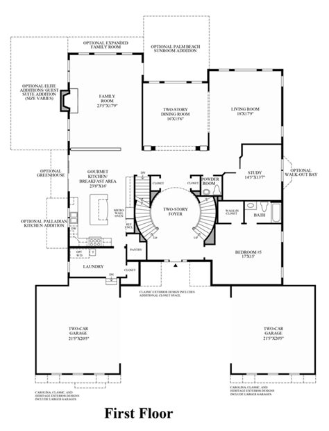 staircase floor plan two staircase house plans