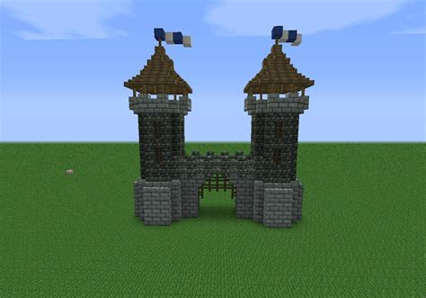 ways to make homes and towns more age friendly medieval gate house minecraft pinterest medieval