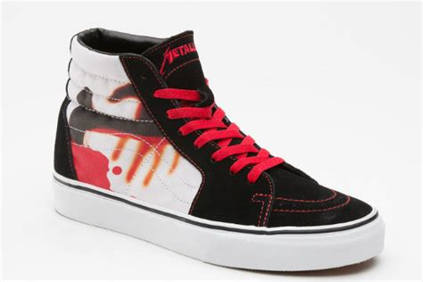 Vans Metalica Premium vans x metallica kill em all cult edge