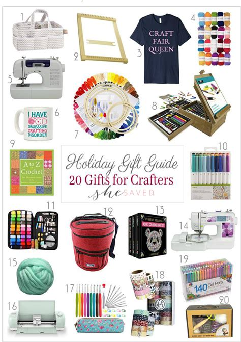 holiday gift guide gifts for crafters shesaved 174