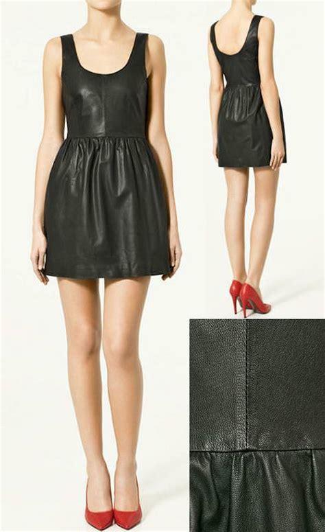 vestidos de cuero vestidos de de cuero demujer moda