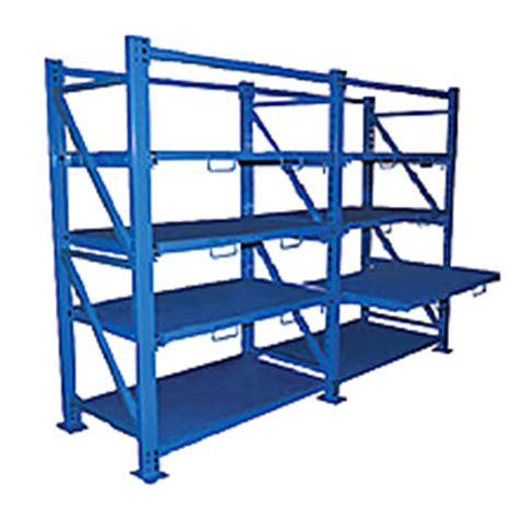 Roll Out Shelf Racks by Roll Out Sheet Metal Rack Shelving Extendable Shelf