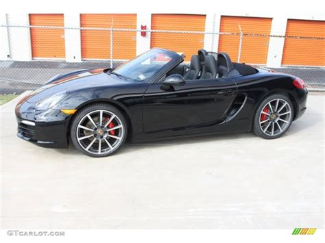 black porsche boxster 2013 black porsche boxster s 76456581 photo 23