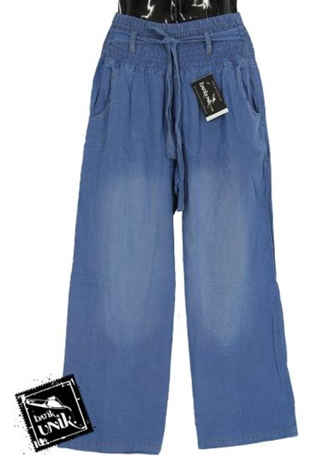 Celana Semi Rok celana kulot tali semi aksen semprot bawahan rok